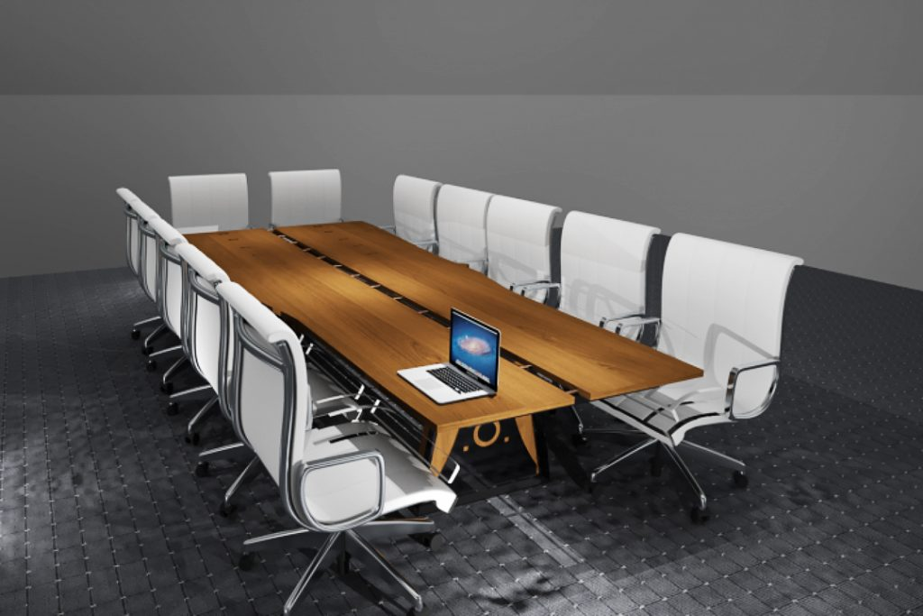 Board Room Table Concept Rendering